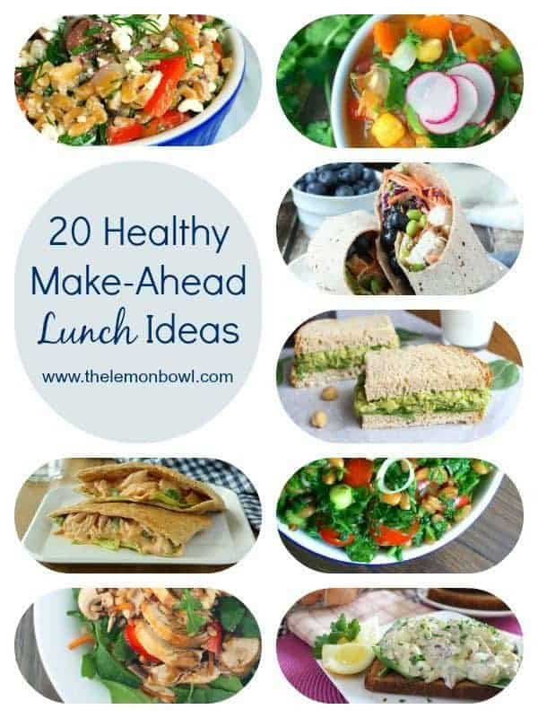 Make Ahead Healthy Lunches  15 Most Popular Recipes of 2015 The Lemon Bowl