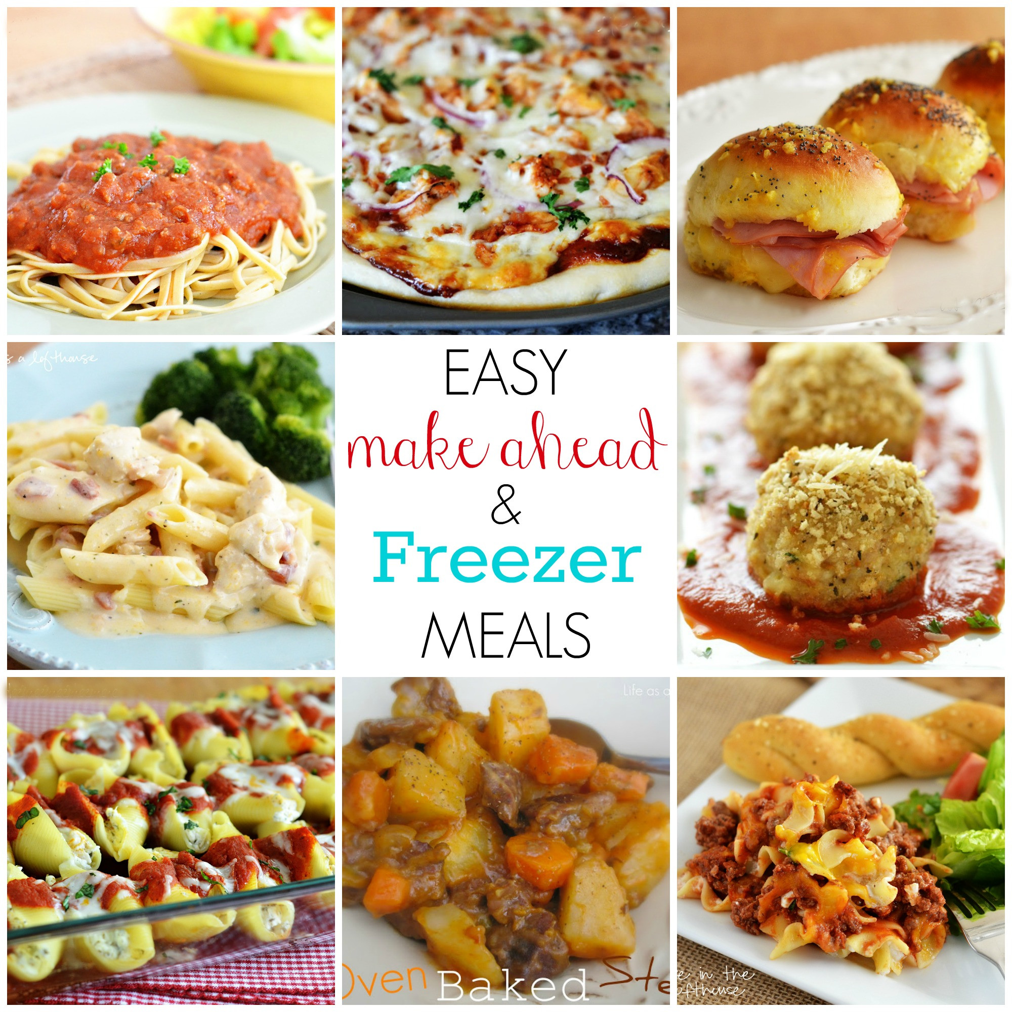 Make Ahead Healthy Lunches  Easy Make Ahead and Freezer Meals