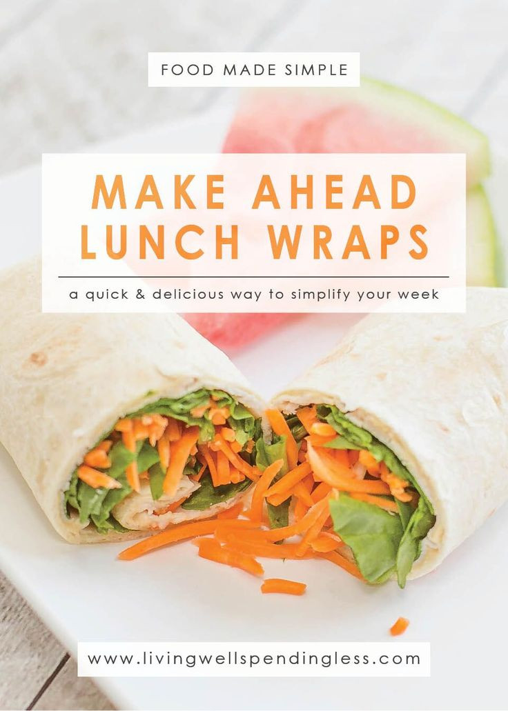 Make Ahead Healthy Lunches  491 best Sandwiches Wraps Bowls Lunch Best Low Calorie