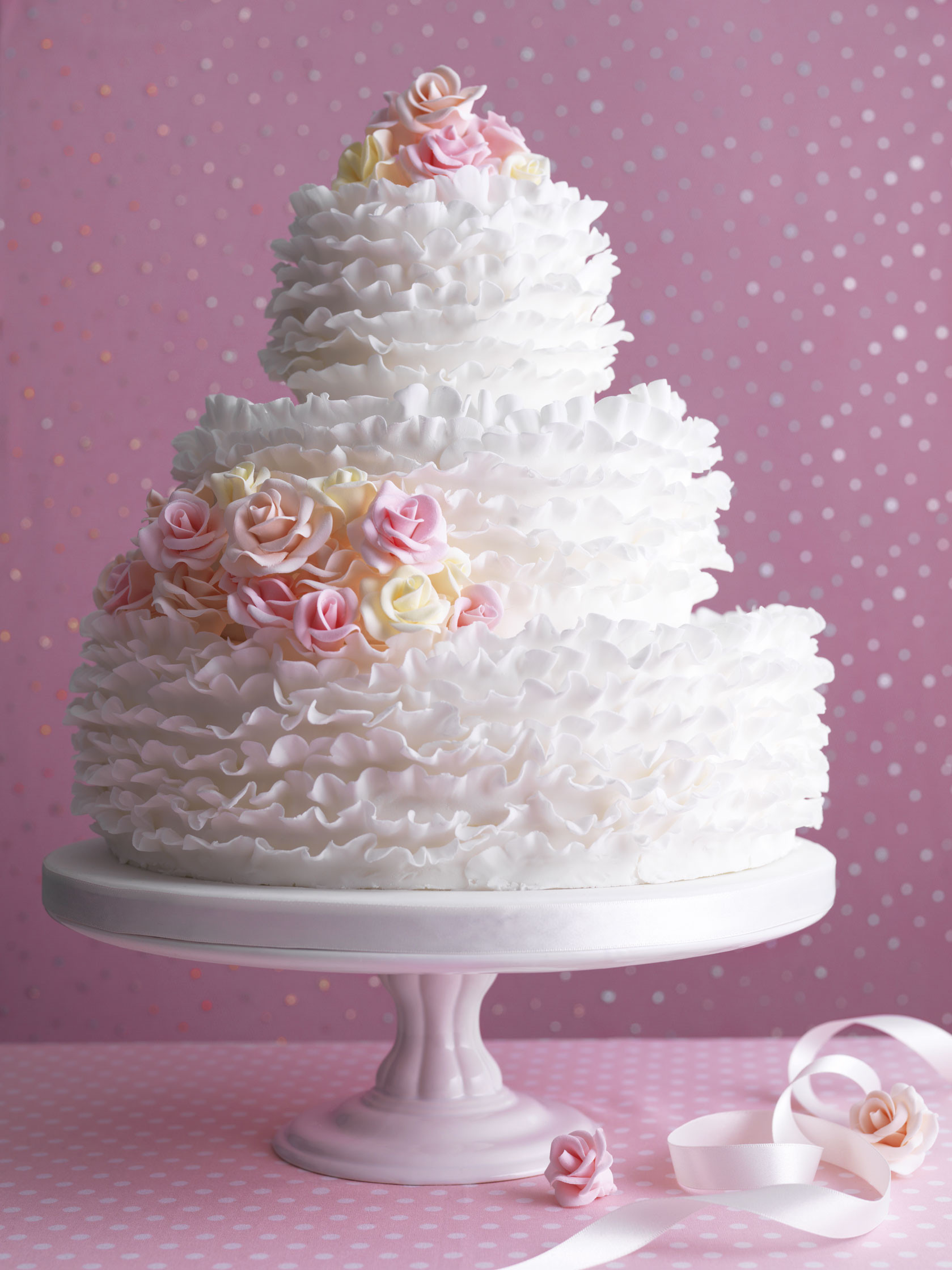 Make Wedding Cakes  How to make a wedding cake