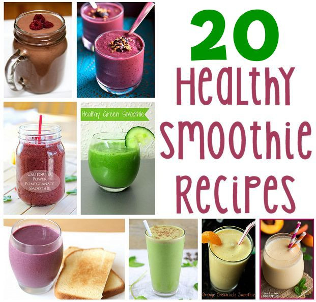 Making Healthy Smoothies At Home  recipes