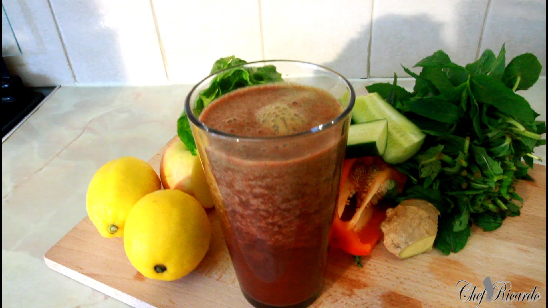 Making Healthy Smoothies At Home  How To Make A Healthy Smoothie AT HOME Jamaican Videos