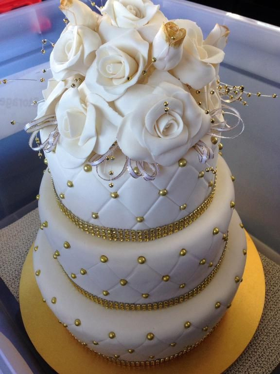 Making Wedding Cakes Beginners  New to Fondant Here s the Need to Know