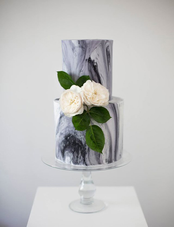 Marble Wedding Cakes  Trend Works of Art 11 Marble Wedding Cakes