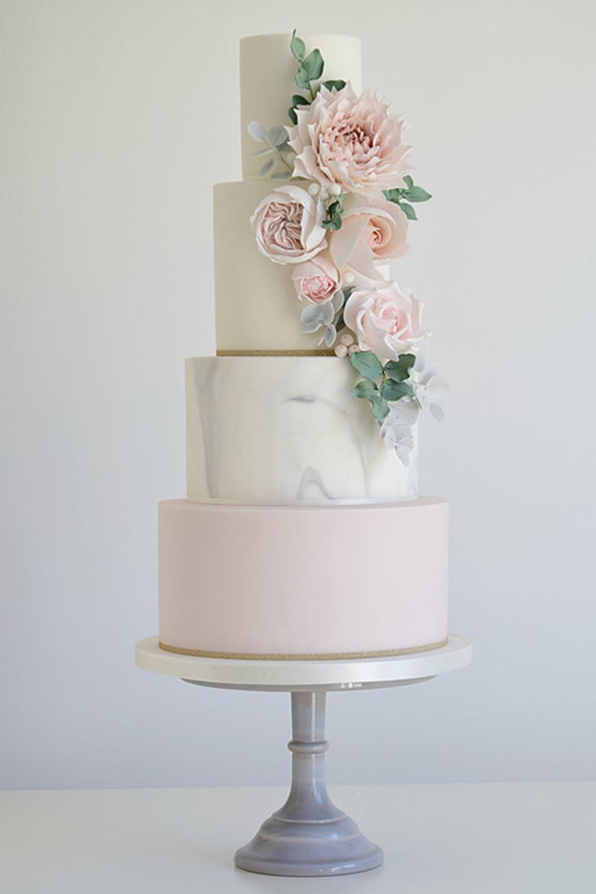 Marble Wedding Cakes  Marble Wedding Ideas Wedding Ideas by Colour