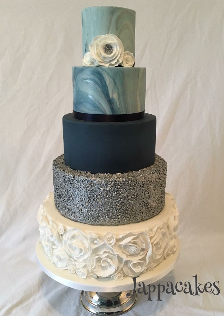 Marble Wedding Cakes  Marble Wedding Cakes Luxury and Style The Glasgow