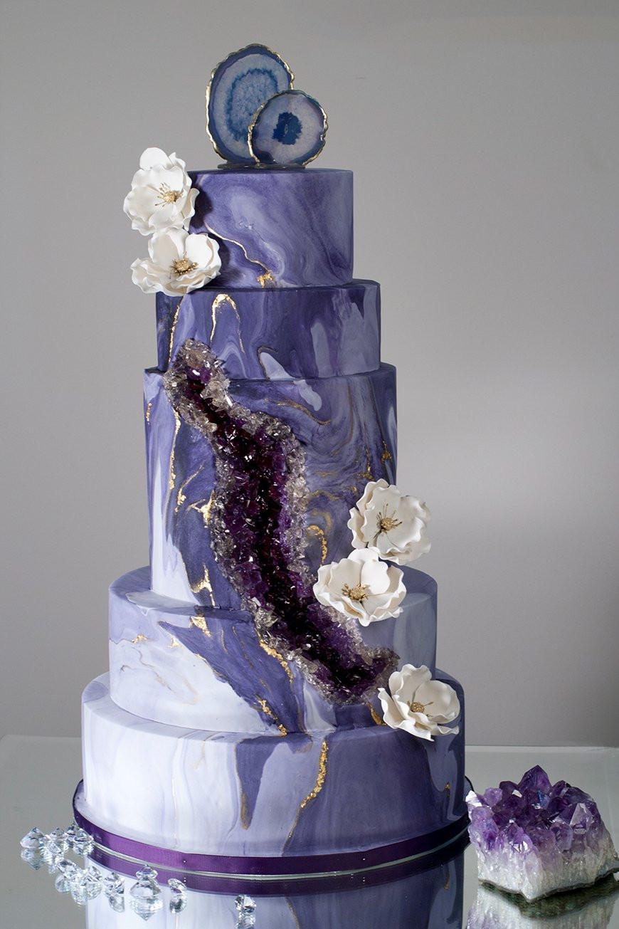 Marble Wedding Cakes  Marble Wedding Cakes Wedding Ideas By Colour