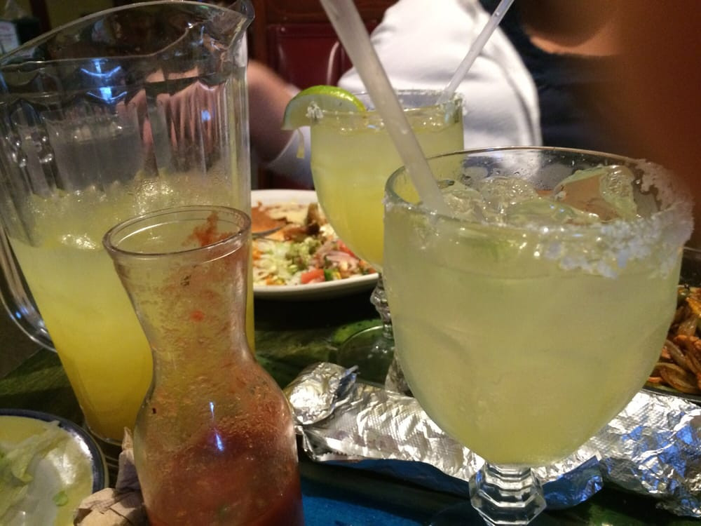 Margaritas Summerville Sc  A pitcher of margaritas on the rocks Yelp