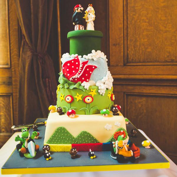 Mario Wedding Cakes  Video Game Themed Weddings