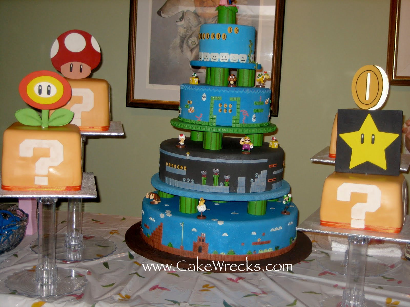 Mario Wedding Cakes  Talk Nerdy To Me 5 Rules of Geek Engagement