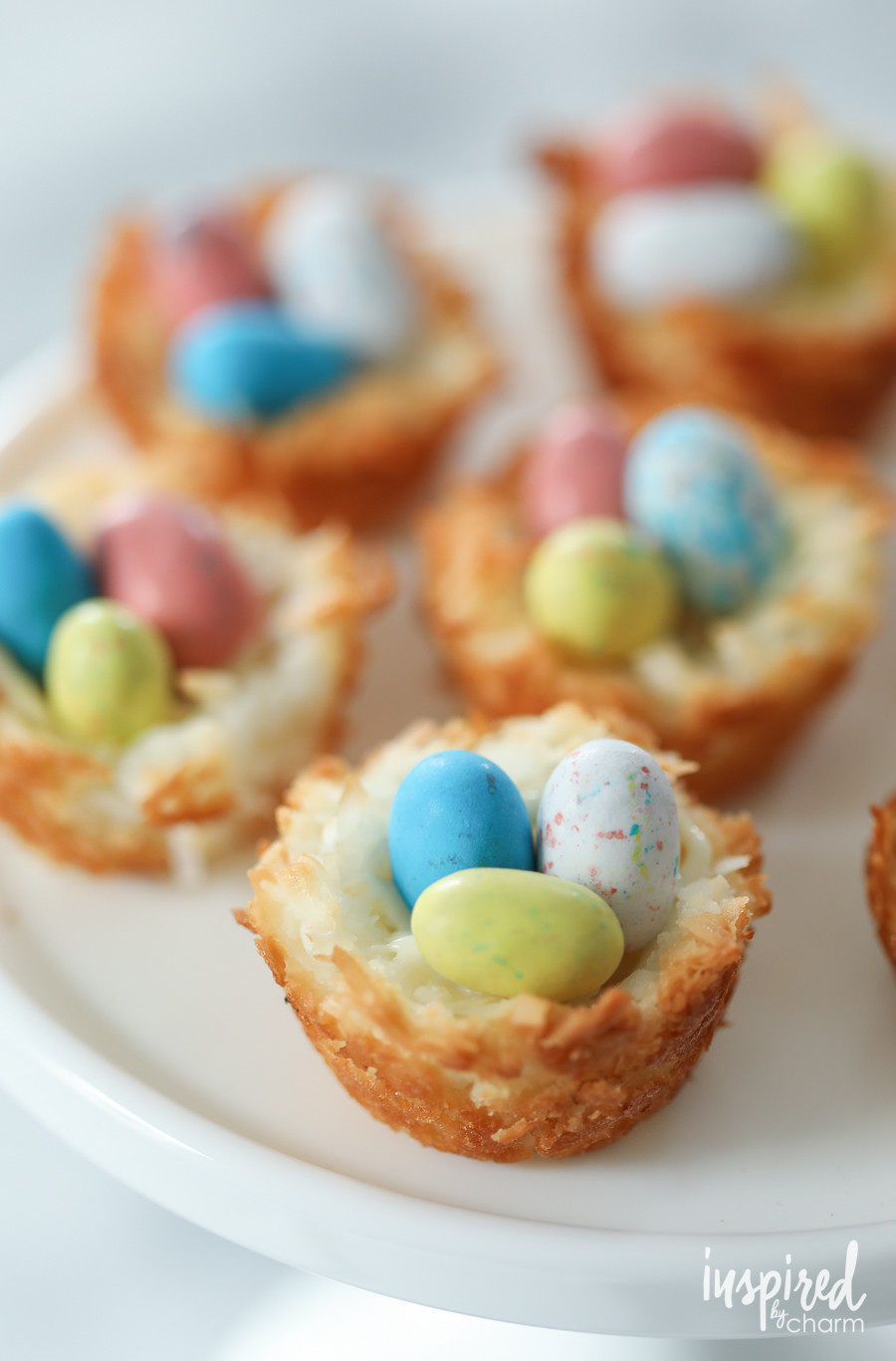 Martha Stewart Easter Desserts  Coconut Macaroon Nests Inspired by Charm