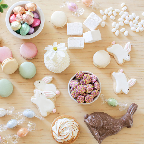Martha Stewart Easter Desserts  This Charming Easter Party is All About Pretty in Pastel