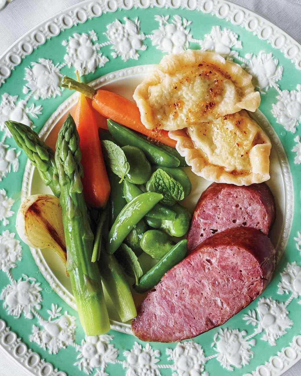 Martha Stewart Easter Dinner Menu  Martha s Easter Menu From Russia with Love