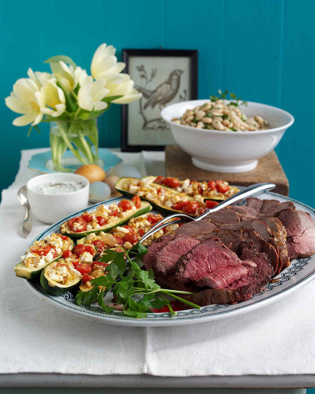 """Martha Stewart Easter Dinner Menu  14 Easter Menus for a """"Hoppy"""" Breakfast Lunch or Dinner"""