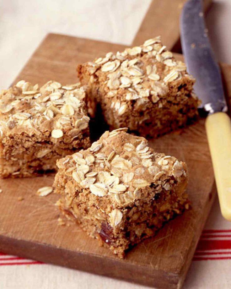 Martha Stewart Healthy Oatmeal Cookies  Oatmeal Bars with Dates and Walnuts Recipe