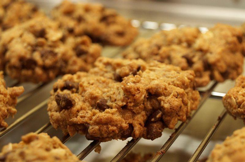 Martha Stewart Healthy Oatmeal Cookies  oat crackers martha stewart
