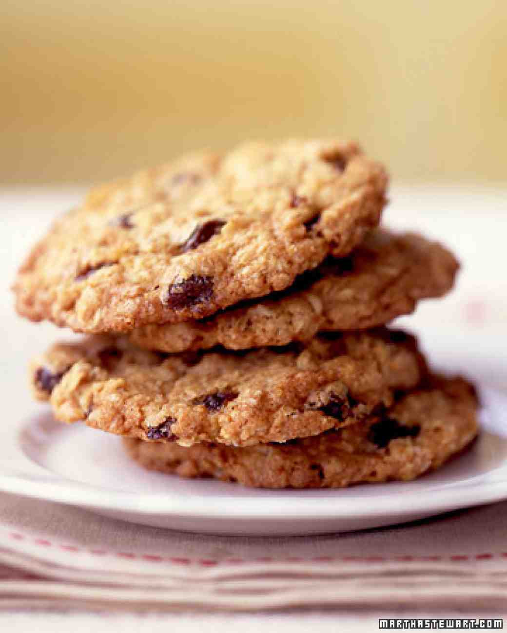 Martha Stewart Healthy Oatmeal Cookies  Oatmeal Raisin Cookies Recipe