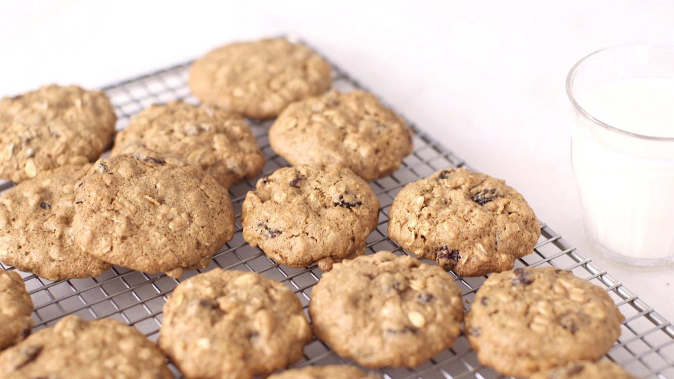 Martha Stewart Healthy Oatmeal Cookies  Video Whole Grain Oatmeal Raisin Cookies