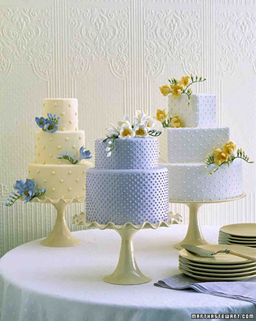 Martha Stewart Wedding Cakes  Traditional Wedding Cakes