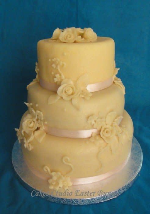 Marzipan Wedding Cakes  Marzipan wedding cake cake by Irina Vakhromkina CakesDecor