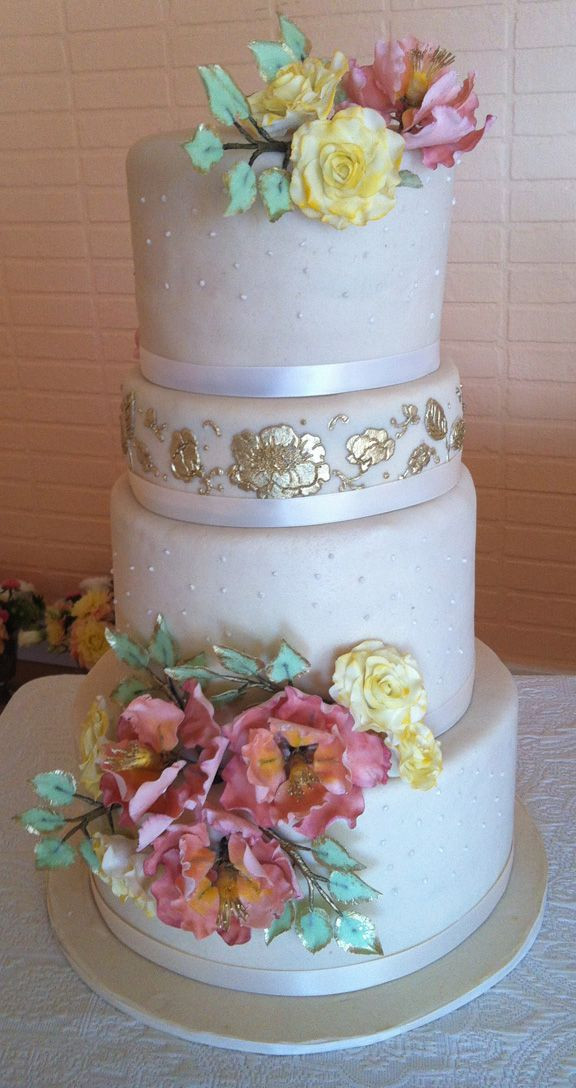 Marzipan Wedding Cakes  68 best Wedding Cakes images on Pinterest