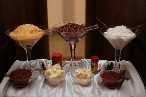 Mashed Potatoes Bar Wedding  76 best Mash potato bar images on Pinterest