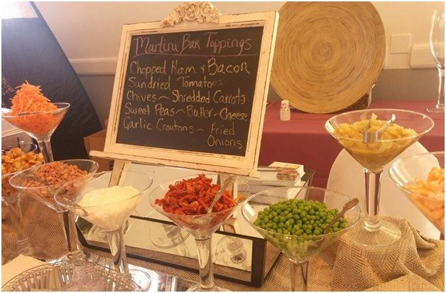Mashed Potatoes Bar Wedding  17 best Mashed Baked Potato Bar images on Pinterest