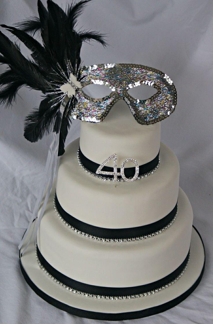 Masquerade Wedding Cakes  Masquerade cake Masquerade Cakes Pinterest