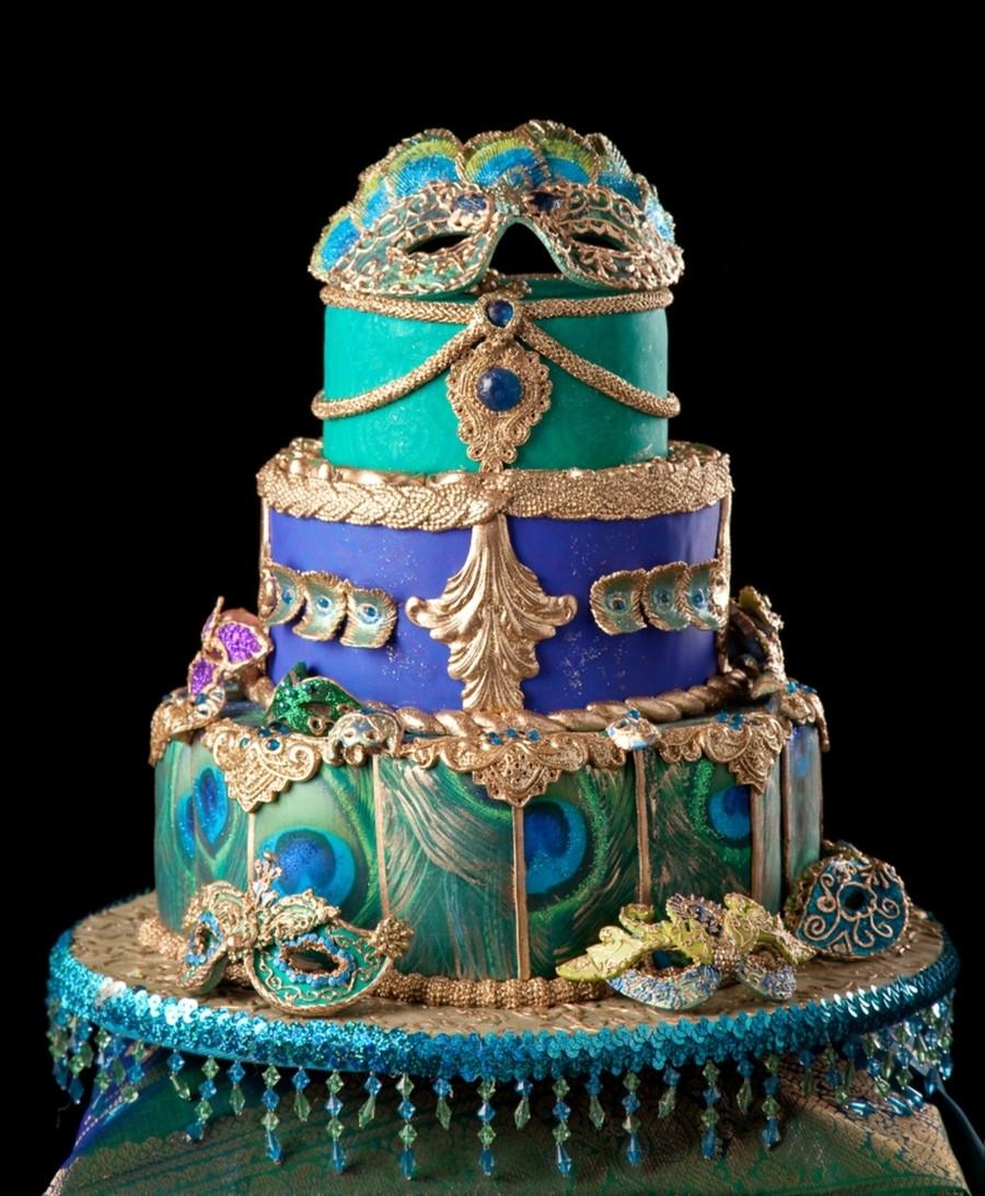 Masquerade Wedding Cakes  Masquerade Ball CakeCentral