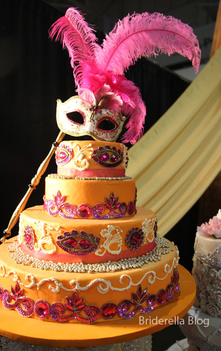 Masquerade Wedding Cakes  Kismet South Asian Wedding Show Spring 2011
