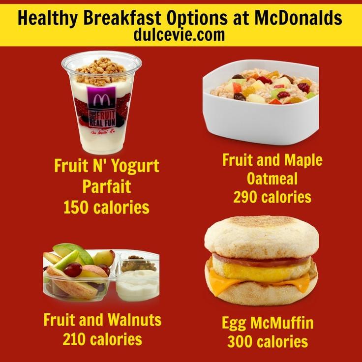 Mcdonalds Healthy Breakfast Menu  Meditation in the morning breakfast good for constipation