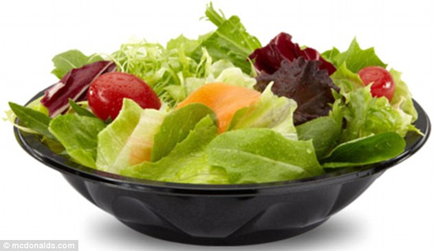 Mcdonalds Salads Healthy  McDonald s to offer salads ve ables or fruit to