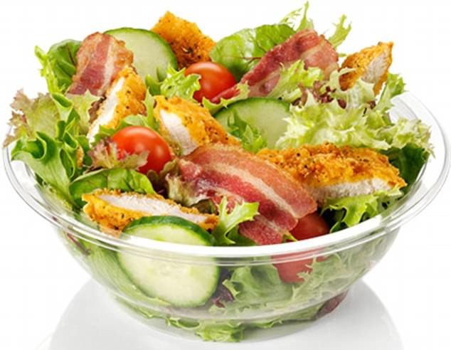 Mcdonalds Salads Healthy  Best and worst high street salads for saturated fat