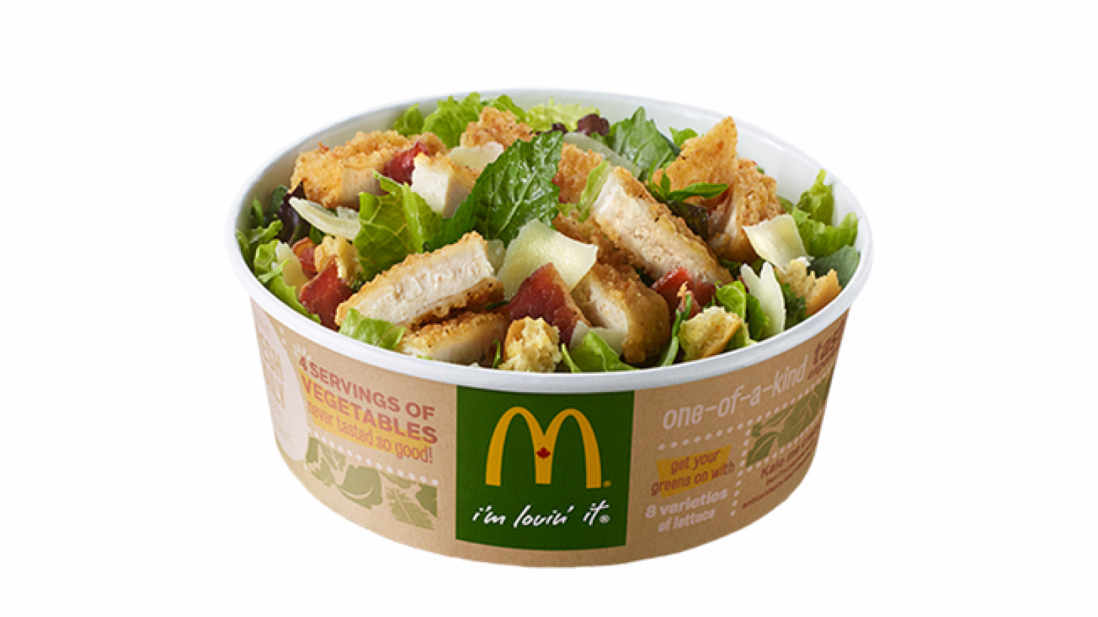 """Mcdonalds Salads Healthy  McDonald's Just Came Out with a """"Healthy"""" Kale Salad But"""