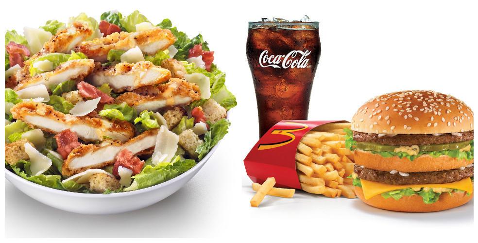 "Mcdonalds Salads Healthy  Surprise A McDonald s kale salad still isn t a ""healthy"