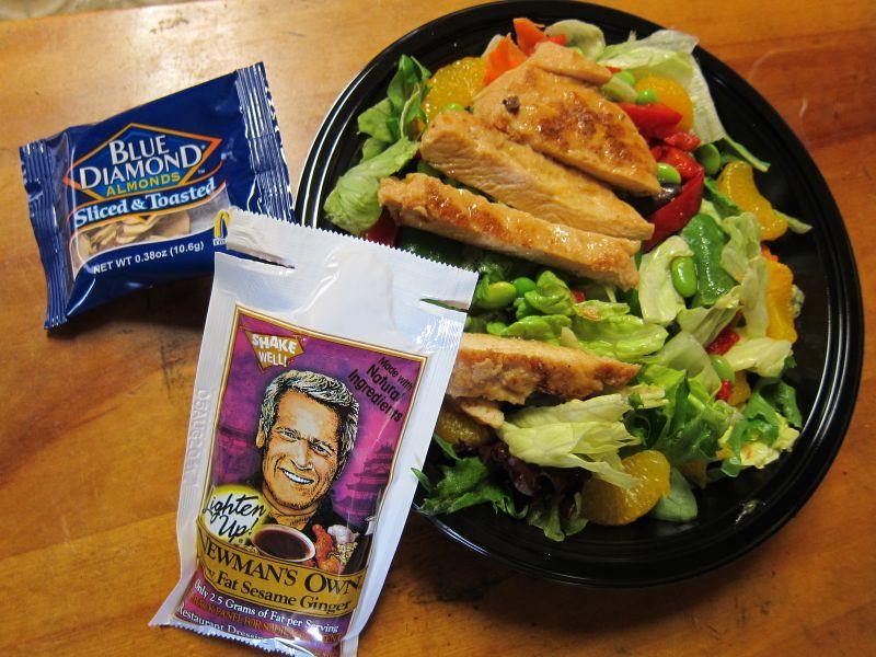 Mcdonalds Salads Healthy  Review McDonald s Asian Salad Returns for the Summer
