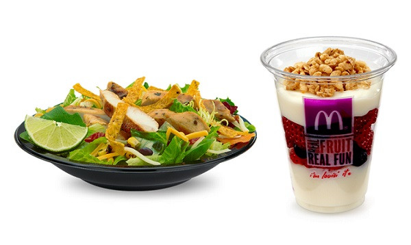 Mcdonalds Salads Healthy  20 Healthiest Fast Food Meals You Can Order at Fast Food