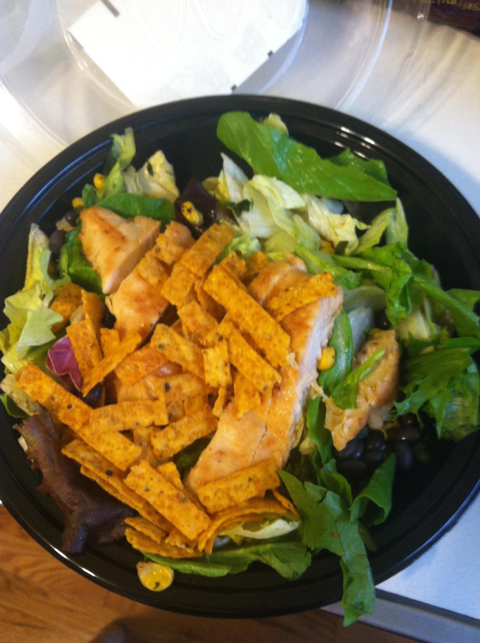 Mcdonalds Salads Healthy  I think I found something healthy at McDonald's