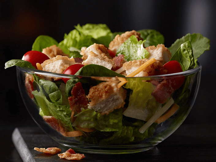 Mcdonalds Salads Healthy  McDonald s banned iceberg lettuce from its salads