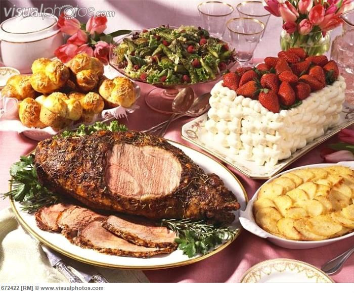 Meat For Easter Dinner  17 Best images about Traditional Easter food around the