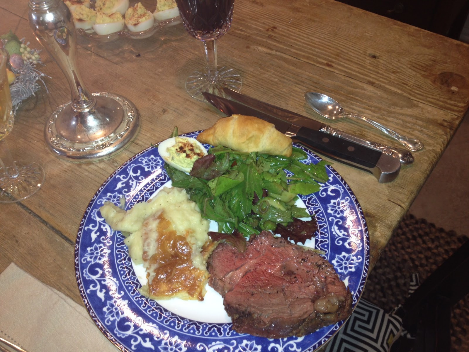 Meat For Easter Dinner  Missy s Cookbook Cabinet Slow Roasted Beef Tenderloin and