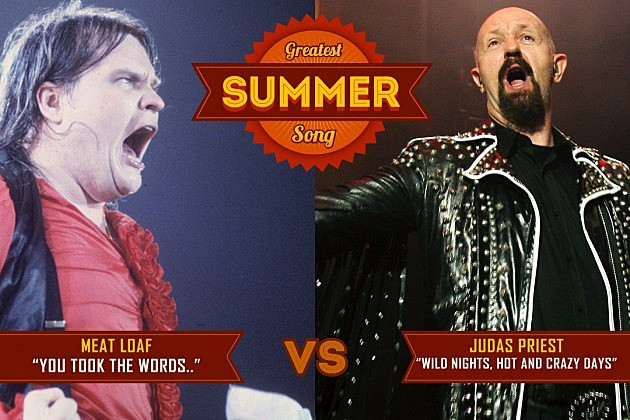 Meatloaf Hot Summer Night  Meat Loaf s You Took the Words Right Out of My Mouth vs