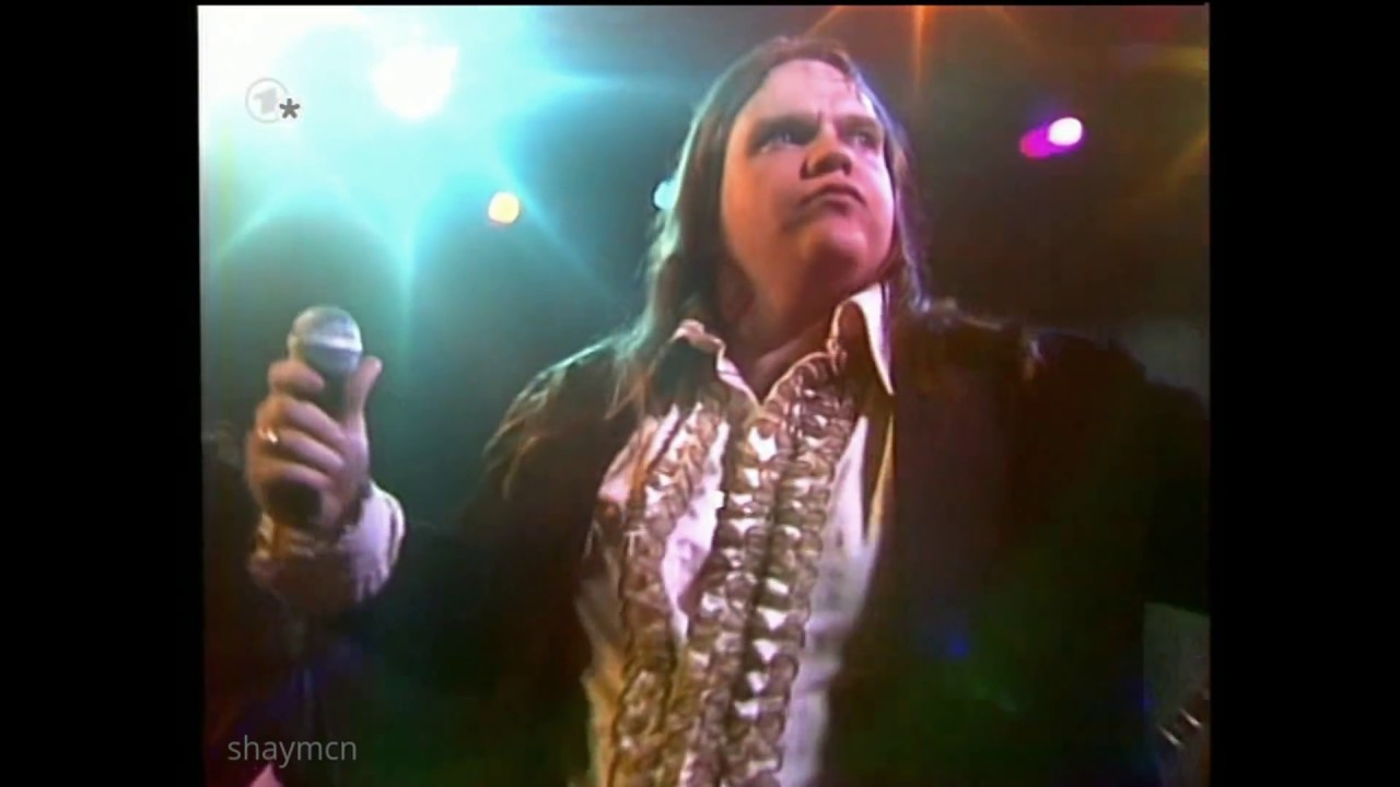 Meatloaf Hot Summer Night  Meat Loaf HQ You Took The Words Right Out My Mouth