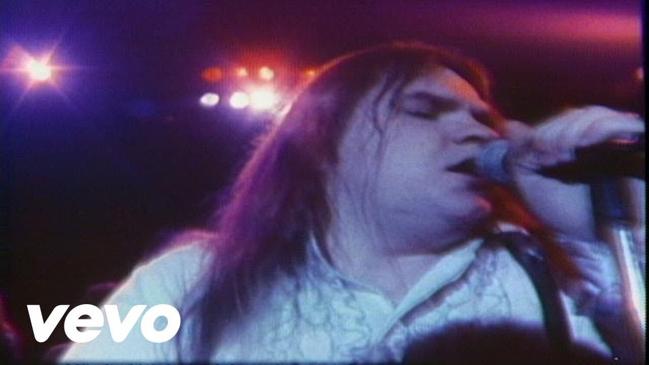Meatloaf Hot Summer Night  Meat Loaf You Took The Words Right Out My Mouth Hot