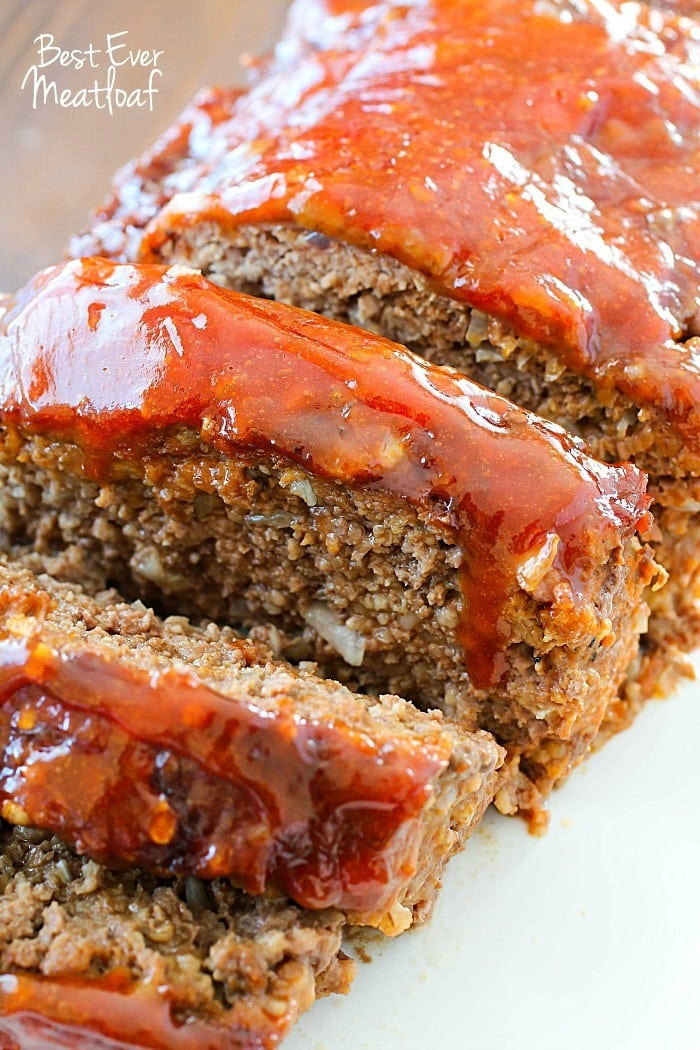 Meatloaf Recipe Healthy  Best Ever Meatloaf Recipe Yummy Healthy Easy