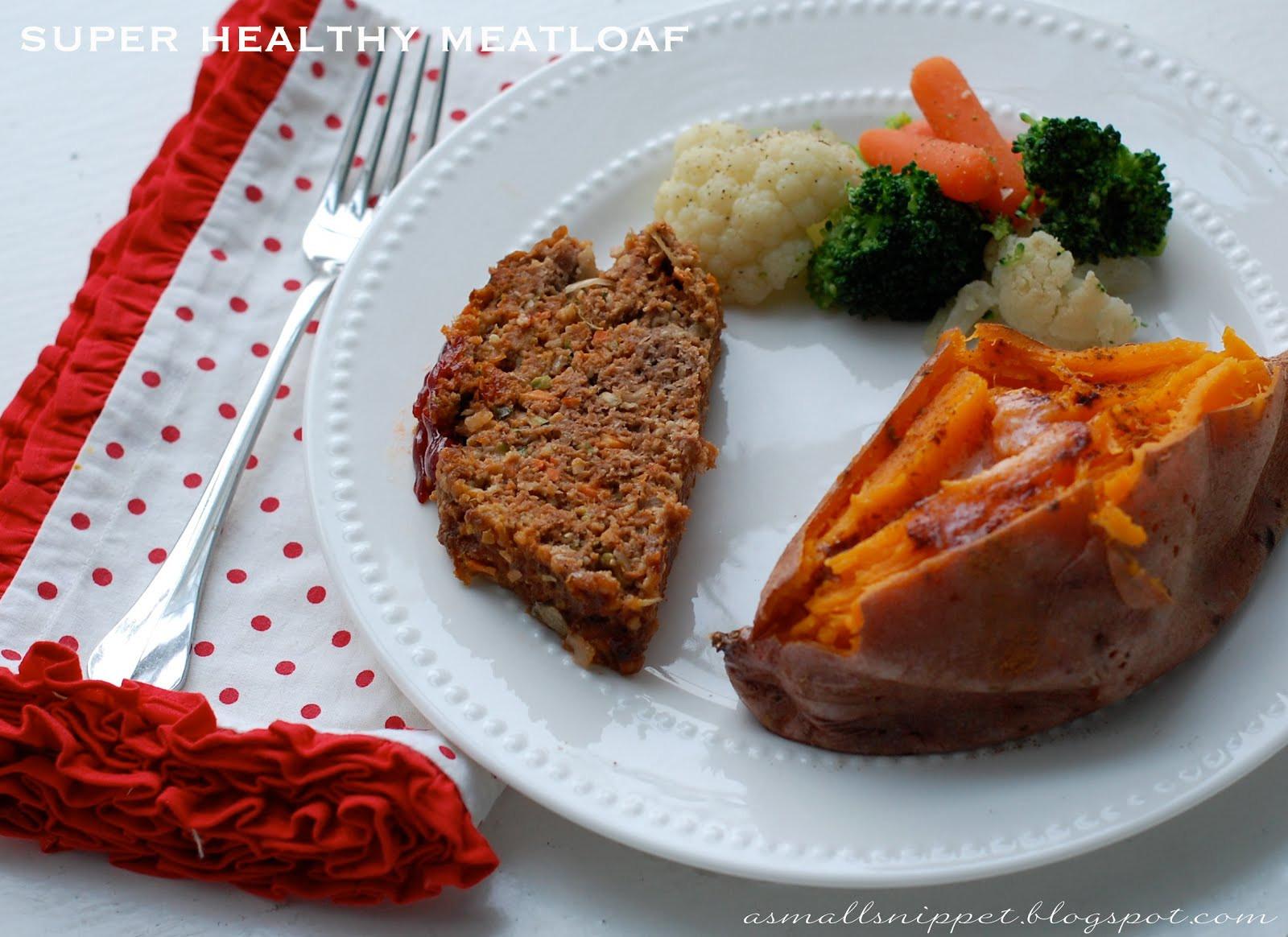 Meatloaf Recipe Healthy  Super Healthy Meatloaf Recipe