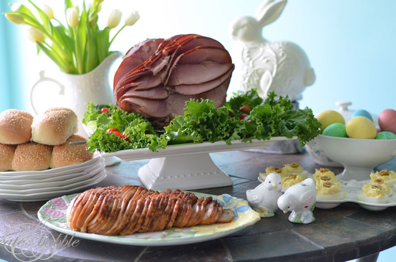 Meats For Easter Dinner  HoneyBaked Ham Easter Dinner and Gift Card Giveaway