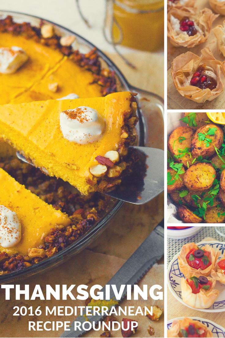 Mediterranean Desserts Healthy  2016 Mediterranean Thanksgiving Recipe Roundup