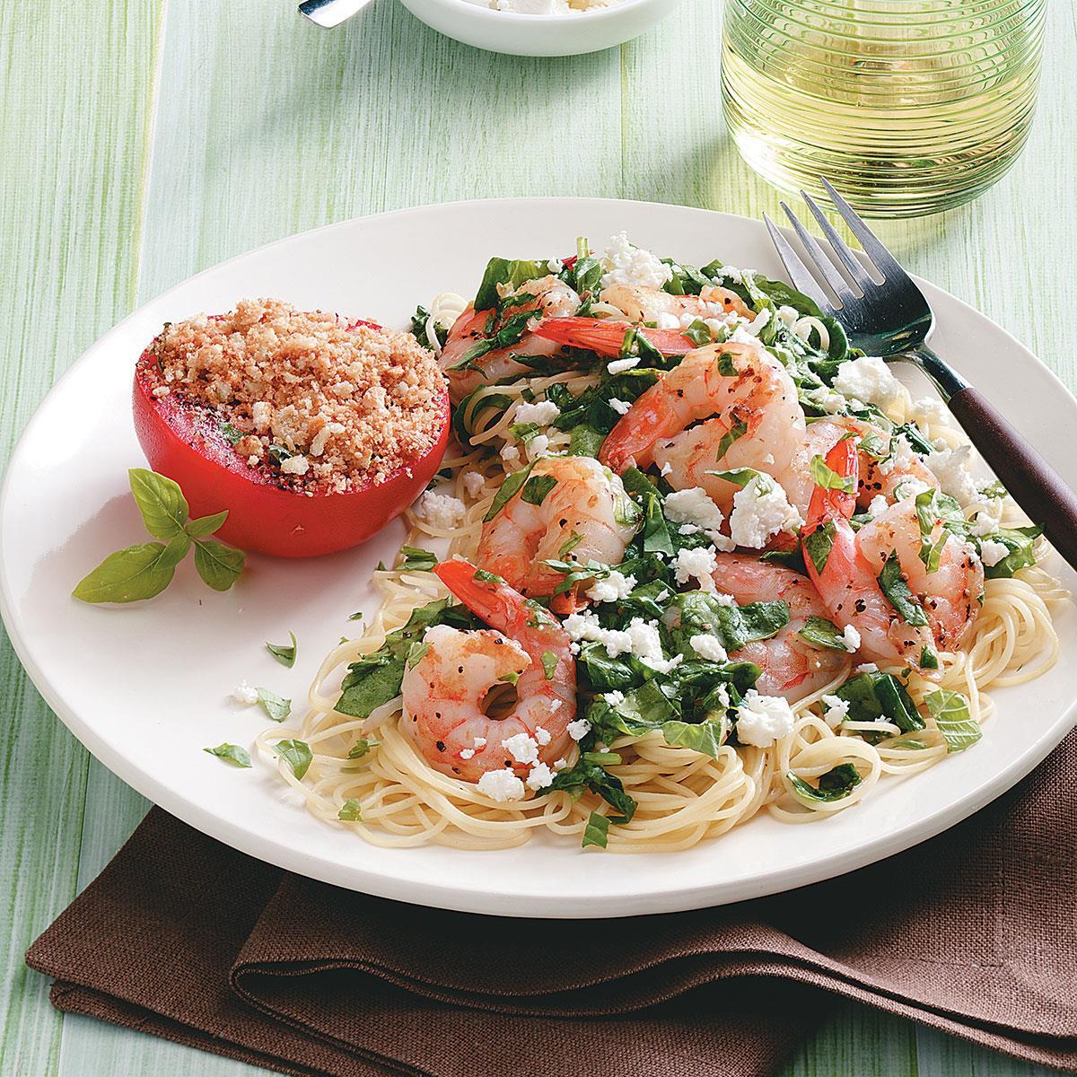 Mediterranean Desserts Healthy  Mediterranean Shrimp Skillet Recipe