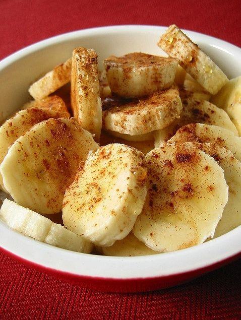 Mediterranean Desserts Healthy  Baked Banana With Cinnamon & Honey Low Fat Healthy